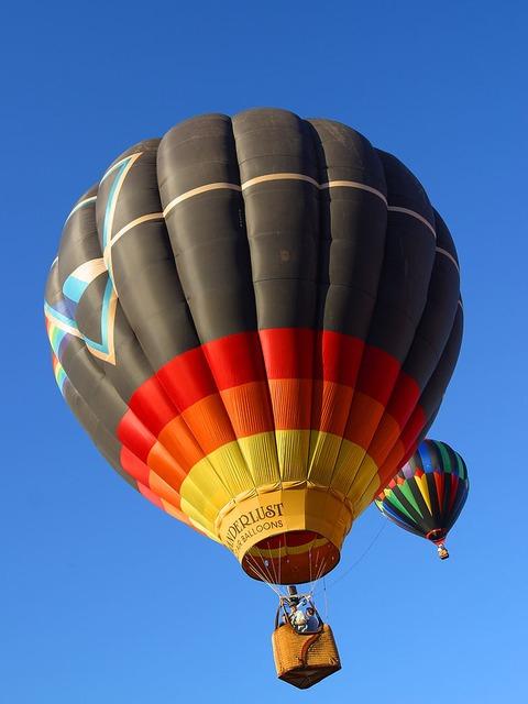 tip na dárek pro ženu k 50. narozeninám  privátní let balónem