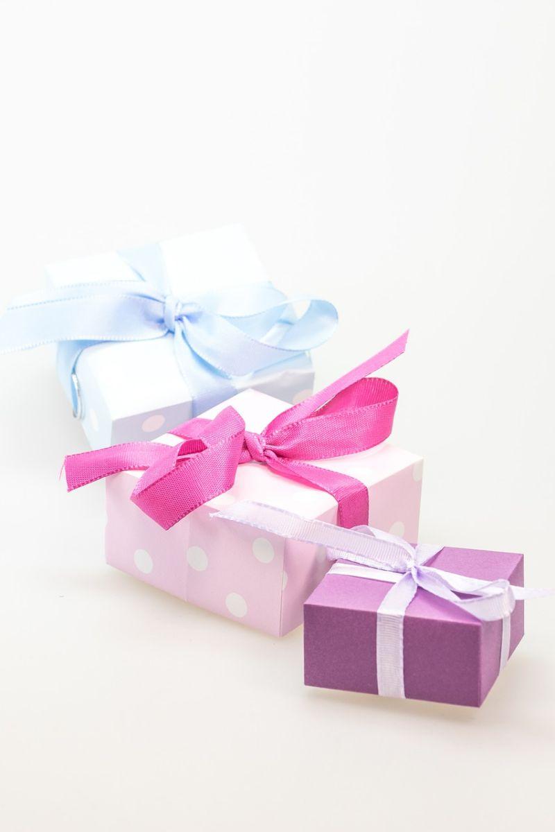 jak zabalit dárky k narozeninám
