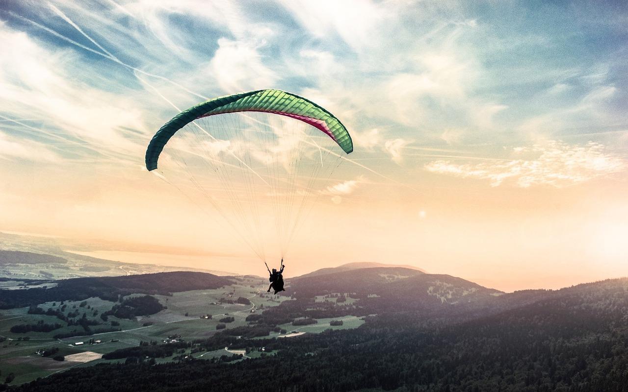 paragliding-dárek k dvacetinám